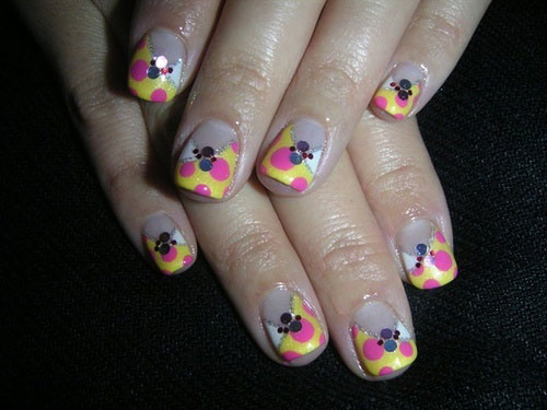 Nail-Art-Designs-For-Beginners-Learners-2013-2014-43