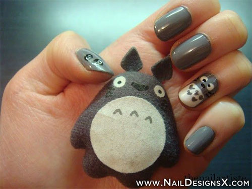 Nail-Art-Designs-For-Beginners-Learners-2013-2014-48