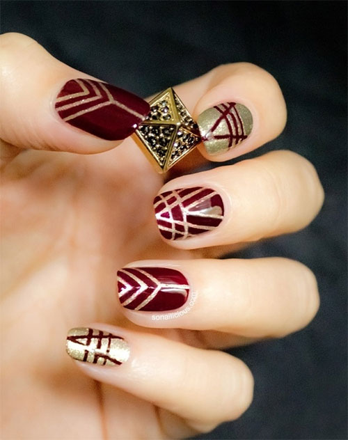Nail-Art-Designs-For-Beginners-Learners-2013-2014-49