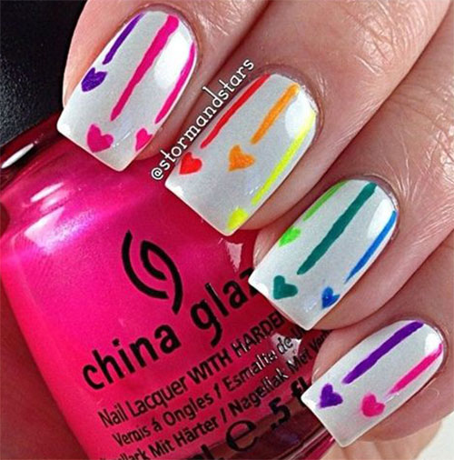 Nail-Art-Designs-For-Beginners-Learners-2013-2014-7