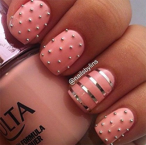 Nail-Art-Designs-For-Beginners-Learners-2013-2014-8