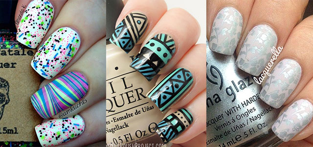 Nail-Art-Designs-For-Beginners-Learners-2013-2014