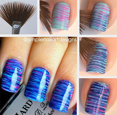 Nail-Art-Tutorials-Step-By-Step-For-Beginners-Learners-2013-2014-6