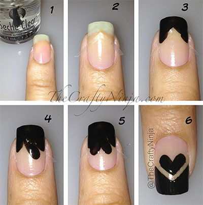Nail-Art-Tutorials-Step-By-Step-For-Beginners-Learners-2013-2014-7
