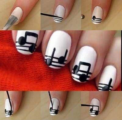 Nail-Art-Tutorials-Step-By-Step-For-Beginners-Learners-2013-2014-8