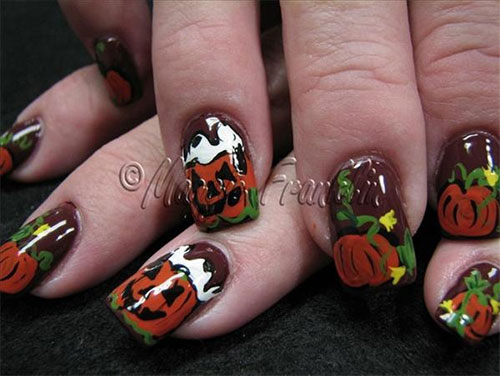 Scary-Halloween-Nail-Art-Designs-Ideas-Stickers-2013-2014-5