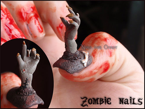 Scary-Halloween-Nail-Art-Designs-Ideas-Stickers-2013-2014-9
