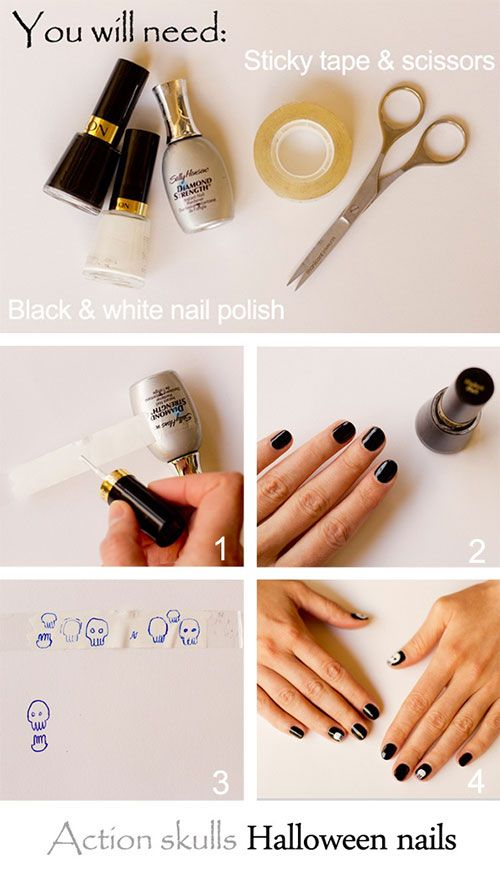 Simple-Easy-Scary-Halloween-Nail-Art-Tutorials-2013-2014-For-Beginners-Learners-4