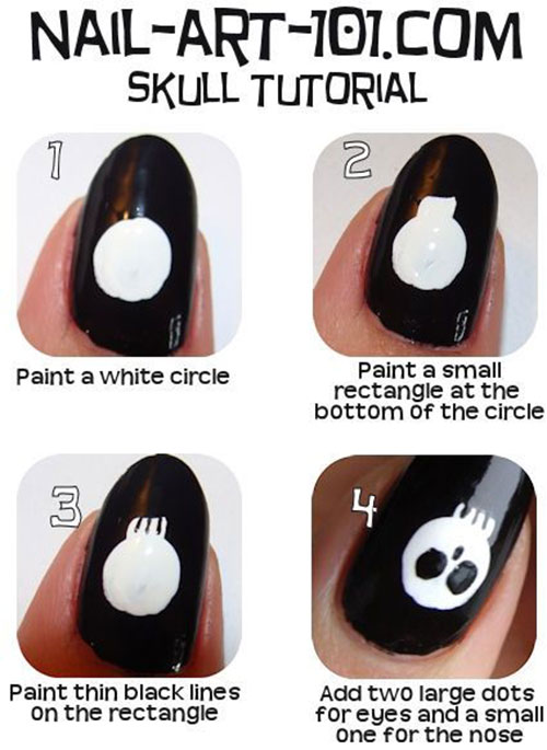 Simple-Easy-Scary-Halloween-Nail-Art-Tutorials-2013-2014-For-Beginners-Learners-8