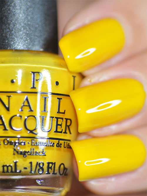 Simple-Easy-Yellow-Nail-Art-Designs-Ideas-2013-2014-4