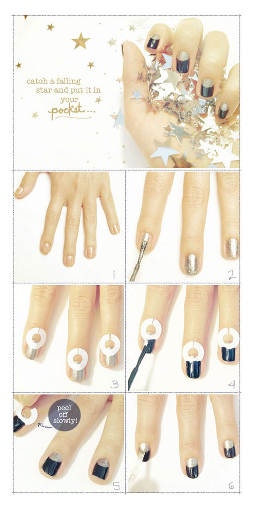Simple-Nail-Art-Tutorials-For-Beginners-Learners-2013-2014-1