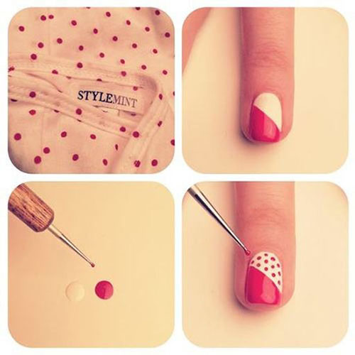 Simple-Nail-Art-Tutorials-For-Beginners-Learners-2013-2014-10