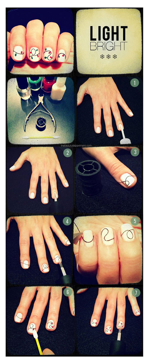 Simple-Nail-Art-Tutorials-For-Beginners-Learners-2013-2014-4