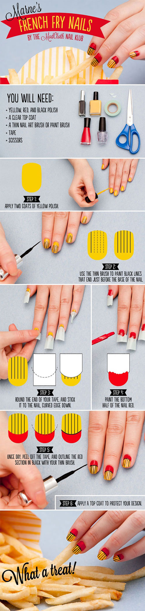 Simple-Nail-Art-Tutorials-For-Beginners-Learners-2013-2014-6