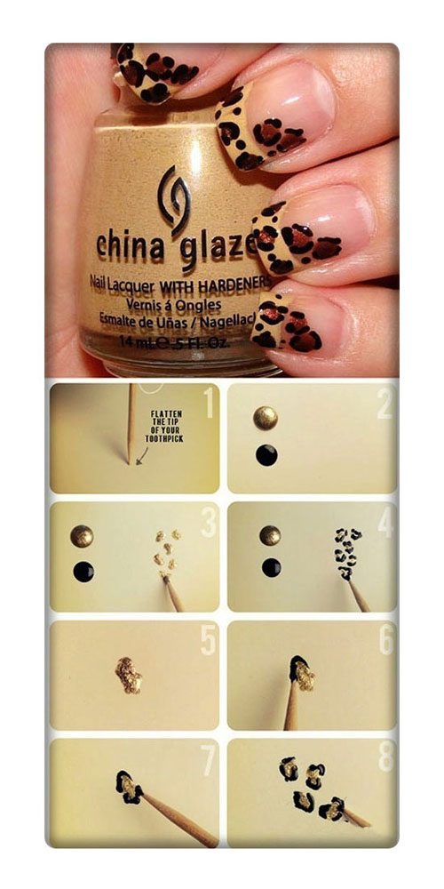 Simple-Nail-Art-Tutorials-For-Beginners-Learners-2013-2014-7