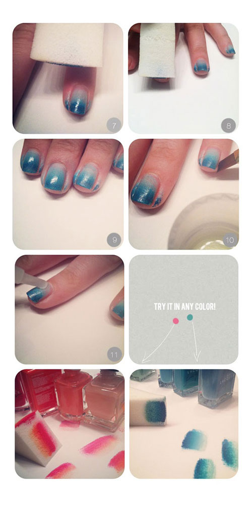 Simple-Nail-Art-Tutorials-For-Beginners-Learners-2013-2014-8