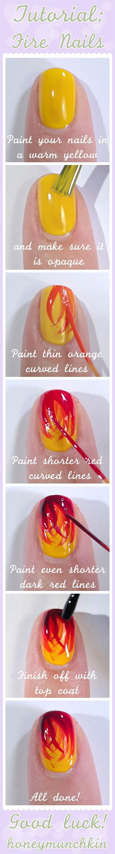 Step-By-Step-Nail-Art-Tutorials-For-Beginners-Learners-2013-2014-10