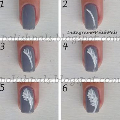 Step-By-Step-Nail-Art-Tutorials-For-Beginners-Learners-2013-2014-2