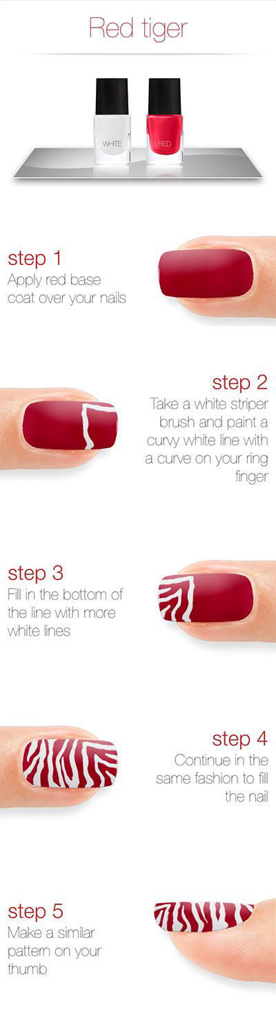 Step-By-Step-Nail-Art-Tutorials-For-Beginners-Learners-2013-2014-7