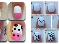Step-By-Step-Nail-Art-Tutorials-For-Beginners-Learners-2013-2014