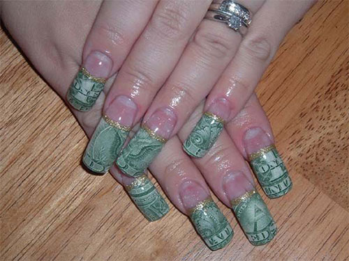 Nails Design Ideas drip nail design 50 Amazing Acrylic Nail Art Designs Ideas 2013