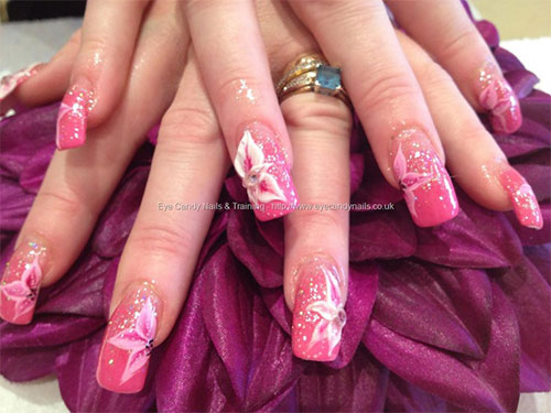 50 amazing acrylic nail art designs ideas 2013 2014 fabulous 3d acrylic nail art prinsesfo Choice Image