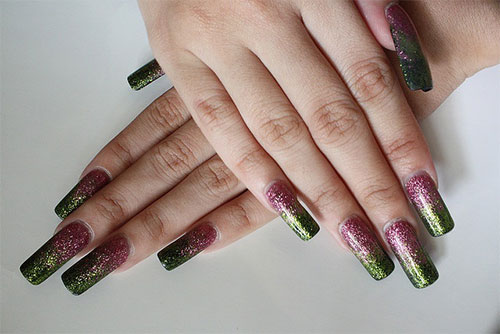50 Amazing Acrylic Nail Art Designs Ideas 2013