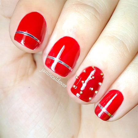Red Nail Art Designs amp; Ideas For Girls 2013/ 2014  Fabulous Nail Art