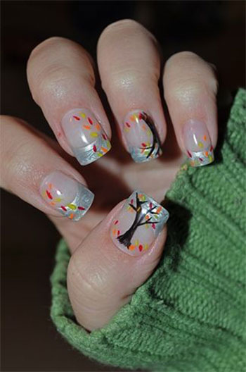 Autumn-Fall-Inspired-Nail-Art-Designs-Trends-Ideas-For-Girls-2013-2014-10
