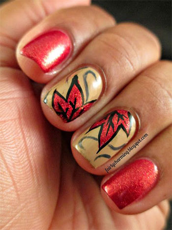 Autumn-Fall-Inspired-Nail-Art-Designs-Trends-Ideas-For-Girls-2013-2014-13