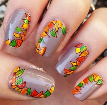 Autumn-Fall-Inspired-Nail-Art-Designs-Trends-Ideas-For-Girls-2013-2014-3