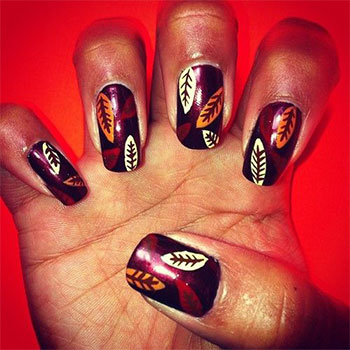 Autumn-Fall-Inspired-Nail-Art-Designs-Trends-Ideas-For-Girls-2013-2014-8