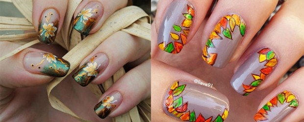 Autumn nail art trends ideas fabulous nail art designs autumn fall inspired nail art designs trends ideas for girls 2013 2014 prinsesfo Image collections