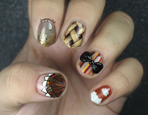Awesome-Thanksgiving-Nail-Art-Deigns-Ideas-2013-2014-3