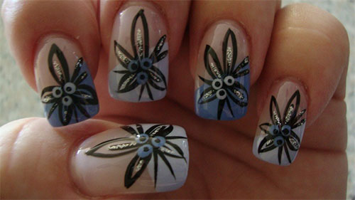 Creative-Flower-Nail-Art-Designs-Ideas-2013-2014-1