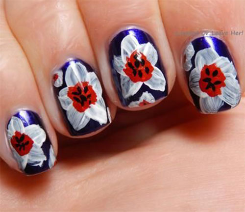 Creative-Flower-Nail-Art-Designs-Ideas-2013-2014-12