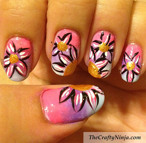 Creative-Flower-Nail-Art-Designs-Ideas-2013-2014-2