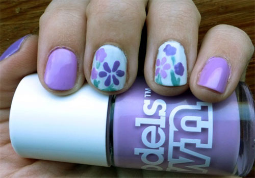 Creative-Flower-Nail-Art-Designs-Ideas-2013-2014-3