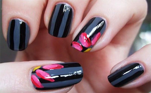 Creative-Flower-Nail-Art-Designs-Ideas-2013-2014-5