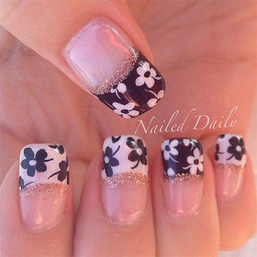 Nail Art Design Ideas latest nail art design ideas Creative Flower Nail Art Designs Ideas 2013 2014