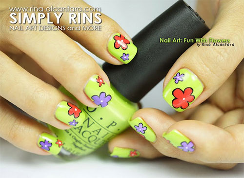 Creative-Flower-Nail-Art-Designs-Ideas-2013-2014-7