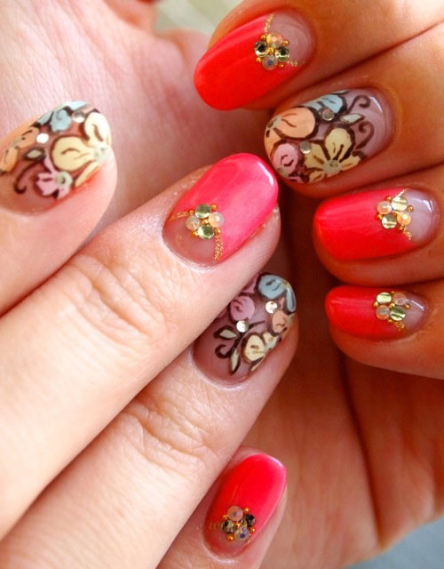 Creative-Flower-Nail-Art-Designs-Ideas-2013-2014-8