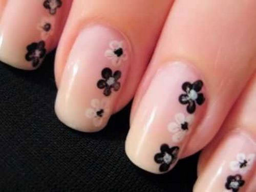 Creative-Flower-Nail-Art-Designs-Ideas-2013-2014-9