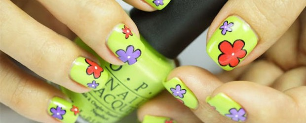 Creative-Flower-Nail-Art-Designs-Ideas-2013-2014