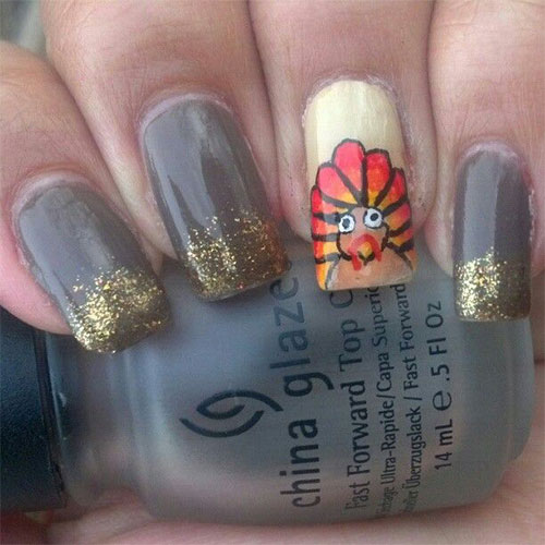 Creative-Thanksgiving-Nail-Art-Deigns-Ideas-2013-2014-10