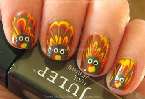 Creative-Thanksgiving-Nail-Art-Deigns-Ideas-2013-2014-11