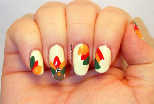 Creative-Thanksgiving-Nail-Art-Deigns-Ideas-2013-2014-12