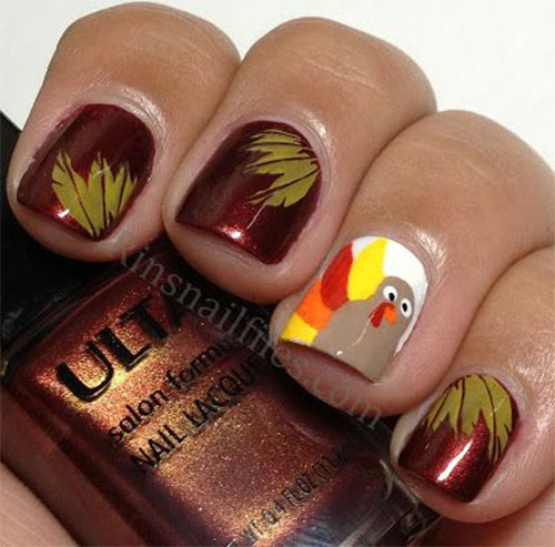 Creative-Thanksgiving-Nail-Art-Deigns-Ideas-2013-2014-2