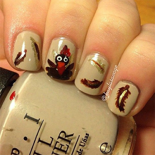Creative-Thanksgiving-Nail-Art-Deigns-Ideas-2013-2014-4