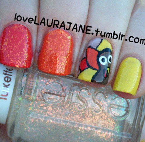 Creative-Thanksgiving-Nail-Art-Deigns-Ideas-2013-2014-5